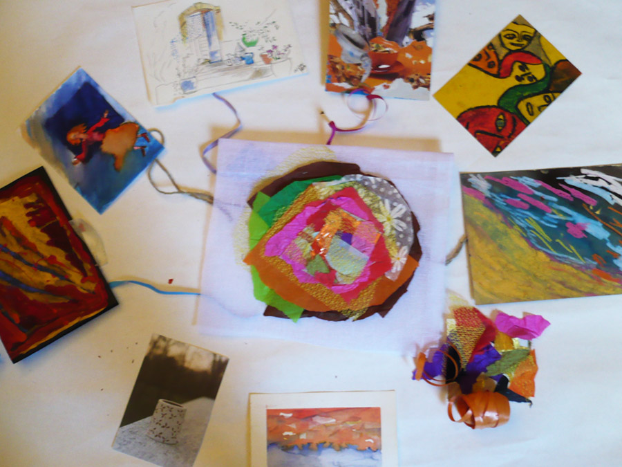 trauma art therapy